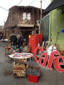 Fun day at the Paris Flea Market.