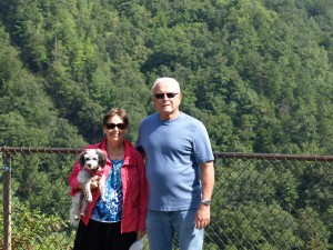 My mom and dad in North Carolina