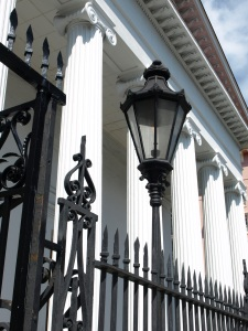 I love the iron work in Charleston.