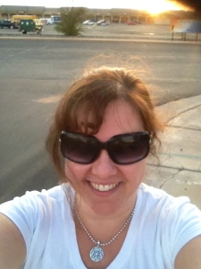 Me on the corner of Winslow, Arizona.