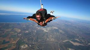 Sky diving in Lompoc