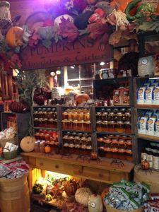 Canned goods at Avila Barns