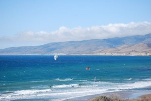 Jalama Beach good for surfing, kite surfing, tanning, camping, photos and to get a great burger!
