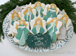 Klickitat Street - Christmas Angel Cookies