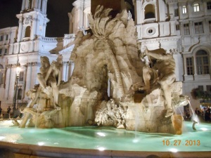 Four Rivers Fountain, Rome
