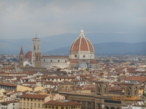The View in Florence. This city had the best views. So peaceful.