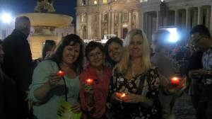 "We got to see the Pope for the ""Celebration of the Family"", I was with my family too. This was very pleasant surprise."