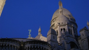 Montmartre the last night in France.