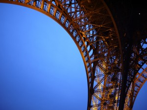 Leg of the Eiffel Tower