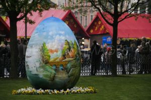 Easter in Prague, Czech Republic